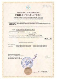 "ИНН ООО МЦ ""Гиппократ"""
